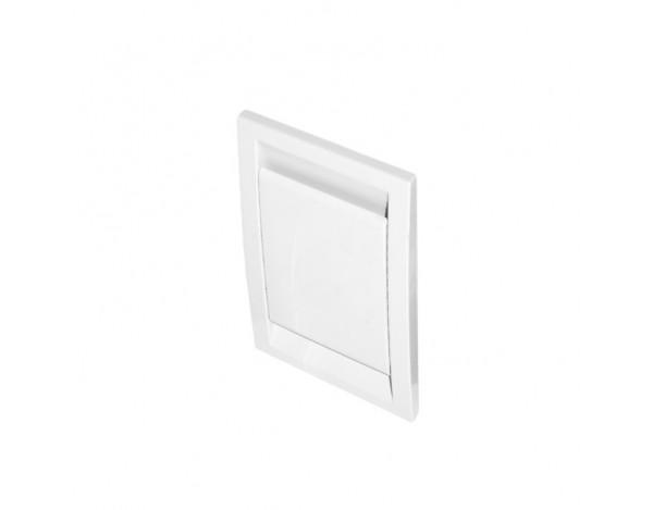 Gniazdo plastikowe DECO, białe
