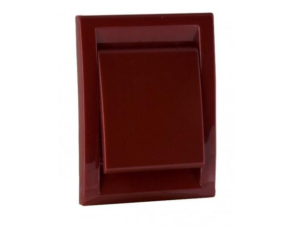 Gniazdo plastikowe DECO, czerwone
