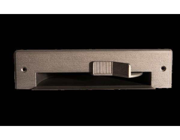 Szufelka automatyczna srebrny szczotkowany