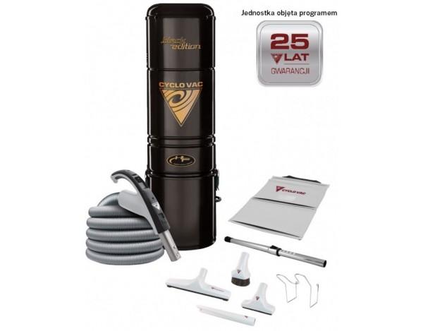 Odkurzacz Cyclo Vac H615 Black Edition + zestaw 9m